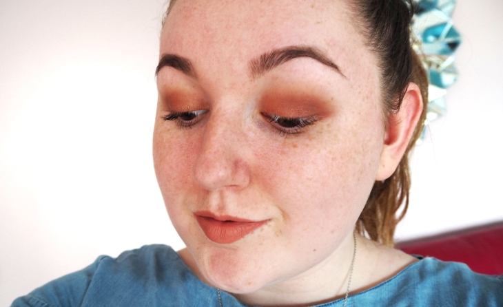 5 Minute Makeup Look for University close up of eye look
